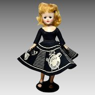 Vogue Jill Doll, All-Hard Plastic Adult Body Straight Leg Walker 1957