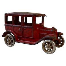Arcade Cast Iron Model T Touring or Sedan Toy Car, Original Paint, Circa 1920