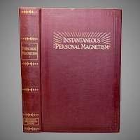 Instantaneous Personal Magnetism Book, 1926