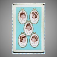 Dionne Quintuplets Playing Cards Circa 1930's
