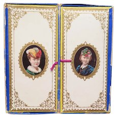 Victorian Antique  Handkerchief Box Circa 1870
