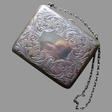 Antique Sterling Silver Purse Blackinton Circa 1900