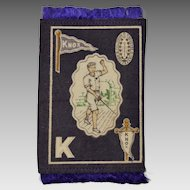 Tobacco Felt College Sports Series, Knox College, Fencing circa 1910