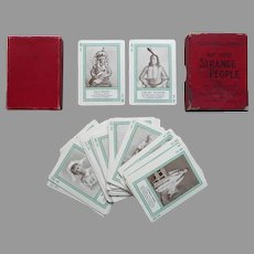 Strange People Fireside Educational Card Game, 1895
