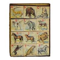 Mayfair Boxed ABC Picture Block Set Circa 1919