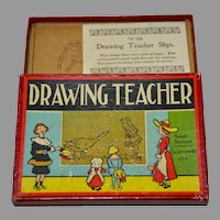 Antique Drawing Teacher Stencils 1905