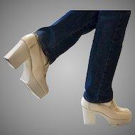 1970's Vintage Men's Platform Disco Shoes