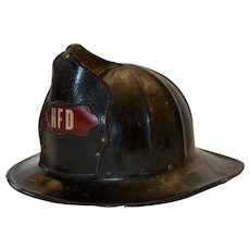 Vintage Firefighter Cairns Eagle Helmet