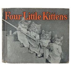 Four Little Kittens Children's Book With photographs by Harry Whittier Frees 1935