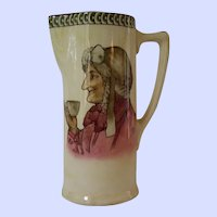 """Royal Doulton Teatime Pitcher """"The Best of Men Are Only Men At The Best"""""""