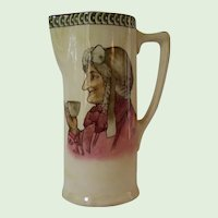"Royal Doulton Teatime Pitcher ""The Best of Men Are Only Men At The Best"""