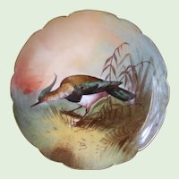Limoges France Bird Collector's Plate LRL Hand Painted