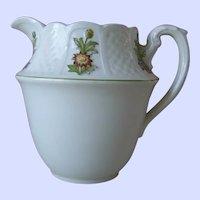 Royal Cauldon June Garden Pitcher,, Made in England, Oldest Pottery Established 1652
