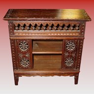 Late Victorian salesman sample cabinet