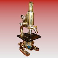 Fine Spencer microscope--1933------restored with original case