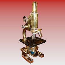 Fine Spencer microscope--1933------restored with original case