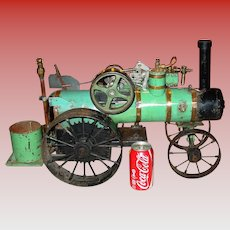 Neat antique live steam engine--moving parts