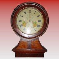 Antique Robert Aithen drumhead tall case clock-1830