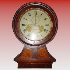 Antique Robert Aithen drumhead tall case clock-1830