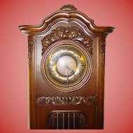 Exceptional antique German tall case grandfather's clock