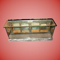 Salesman sample store display case--circa 1900
