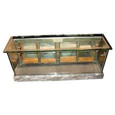 Salesman sample store display case--circa 1900