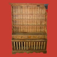 19th c French Vassiliere avec cage a Lapin cabinet