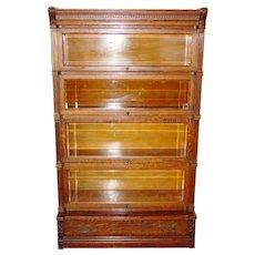 Antique Quarter sawn oak IDEAL Globe barrister bookcase