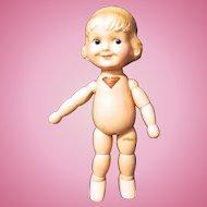 Joseph Kallus, Cameo, Margie, Composition & Wood Segmented doll