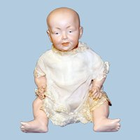 Antique German Baby Doll, Kaiser Look