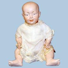 Antique German Baby Doll, Kaiser Look