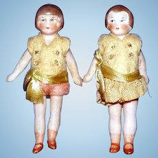 All Bisque Flapper Boy & Girl Dolls