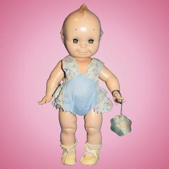 Hard Plastic Cameo Kewpie Doll