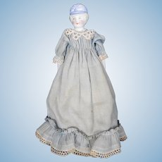 Cute Hertwig Bonnet head Doll, Decorated Shoulderplate