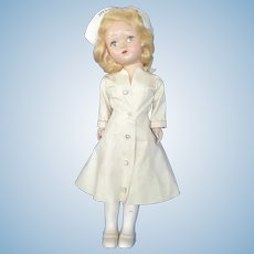Small Vintage Miss Curity Nurse Doll