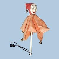 Vintage Jester's Scepter, Clown, Marotte
