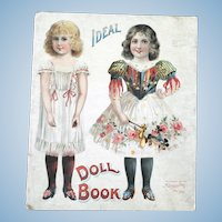 Antique McLoughlin Bros. Paper Doll Book 1907
