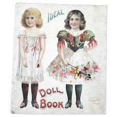 Antique McLoughlin Bros. Paper Doll Book 1907