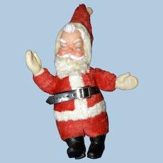 Mid-Century, Vinyl Mask-Faced Santa Claus Doll