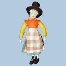 Stockinette Welsh Lady Doll