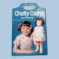 Whitman Chatty Cathy Paperdoll Set, 1963
