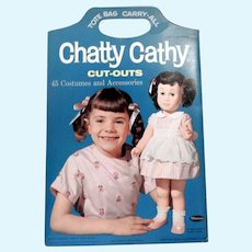 Whitman Chatty Cathy Paperdoll Set, 1963