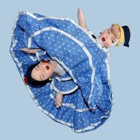 Mid Century Pages-Matarin Cloth Topsy Turvy Doll
