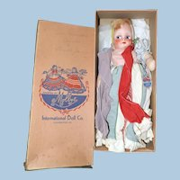 Molly'es International Doll, Rumanian, Original Box