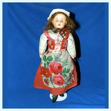 Minerva Celluloid Doll in World Costume