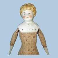 Hertwig Dorothy China Doll on Educational Body