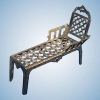 Simon et Rivollet Miniature French Metal Chaise