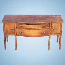 HTF Tynietoy Swell-front Sheraton Sideboard