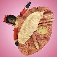 Cloth, Bruckner Topsy -Turvy Doll