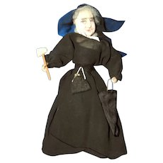 Carrie Nation, Kimport, Kimcraft Artist Cloth Doll